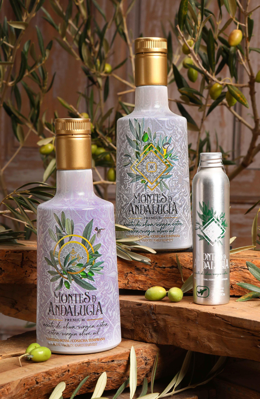 Aceite de Oliva Virgen Extra variedad Picual y Royal.