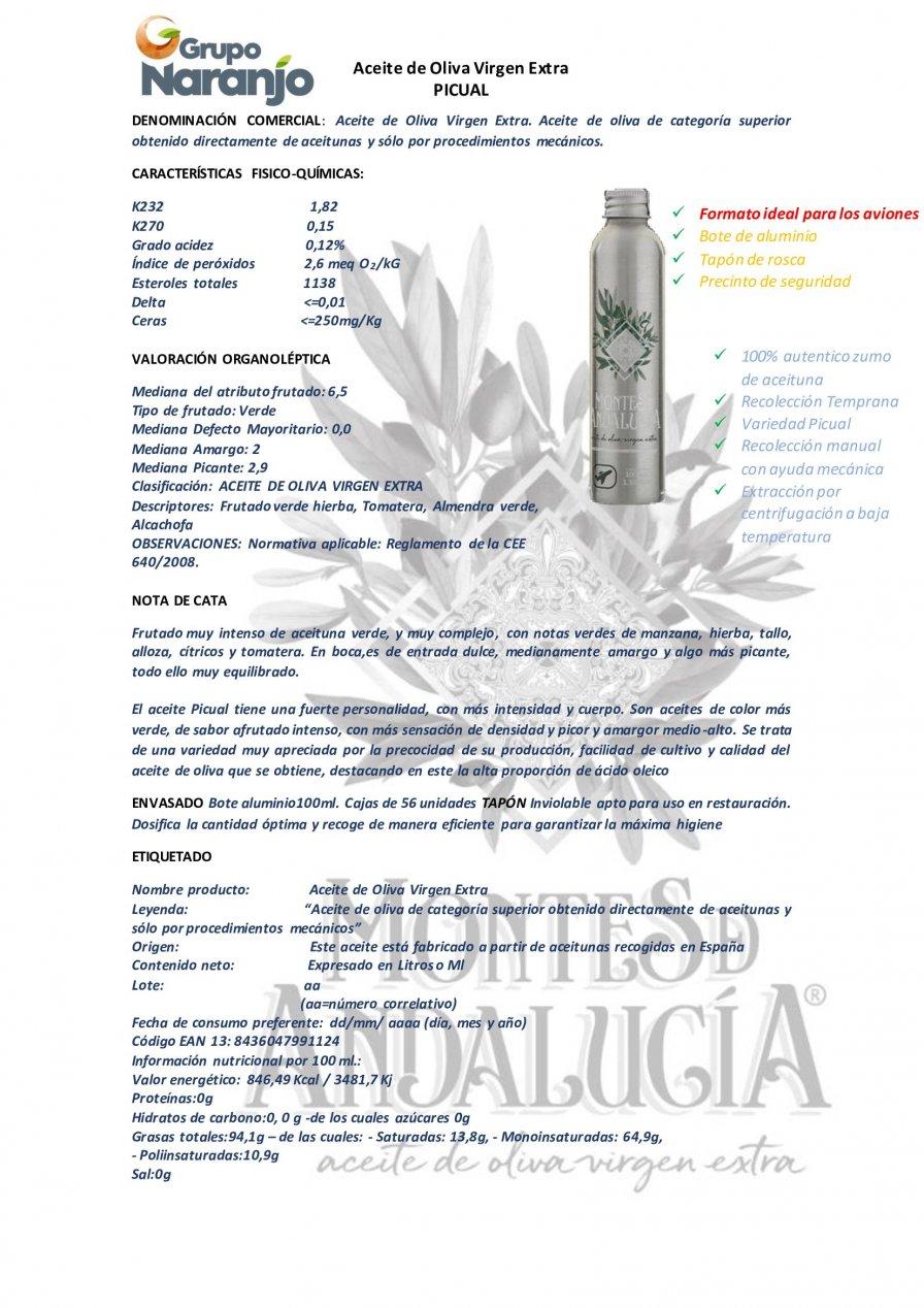 AOVE Picual 100 ml